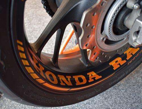 Folierung Motorrad Honda