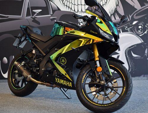 Folierung Motorrad Yamaha